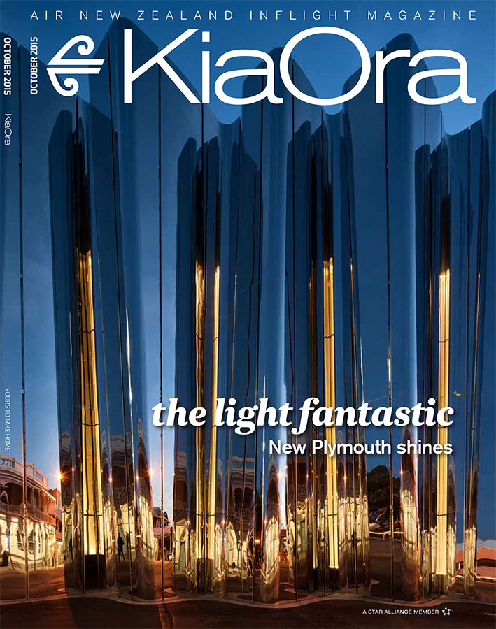 KiaOra Magazine - October 2015 - Len Lye Centre