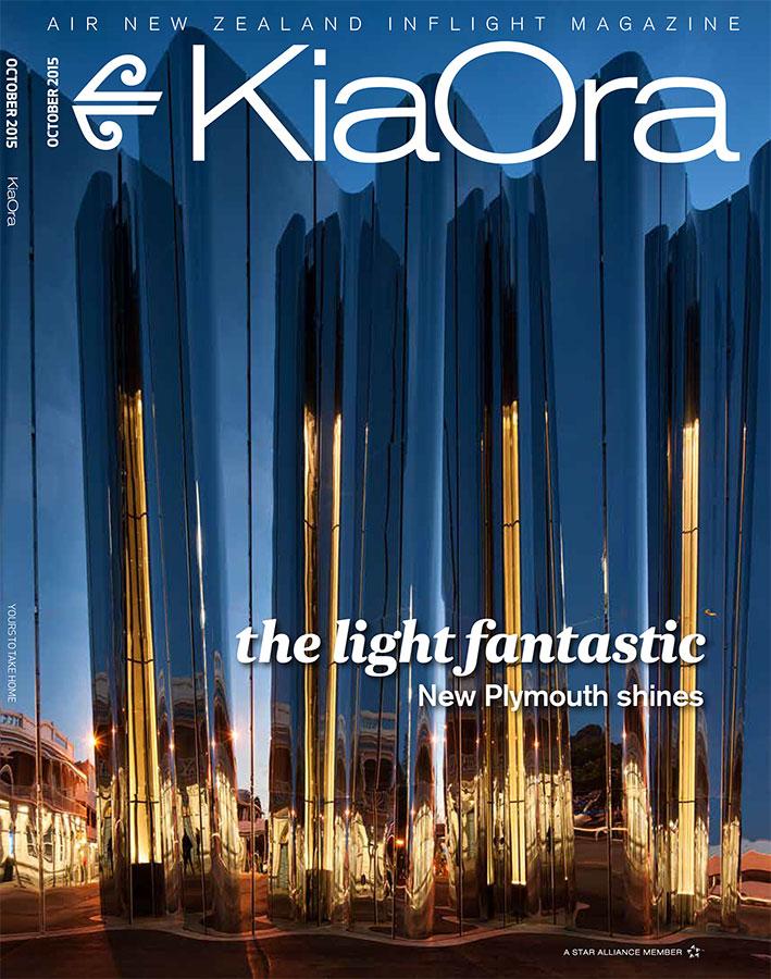 KiaOra Magazine - October 2015 - Len Lye Centre