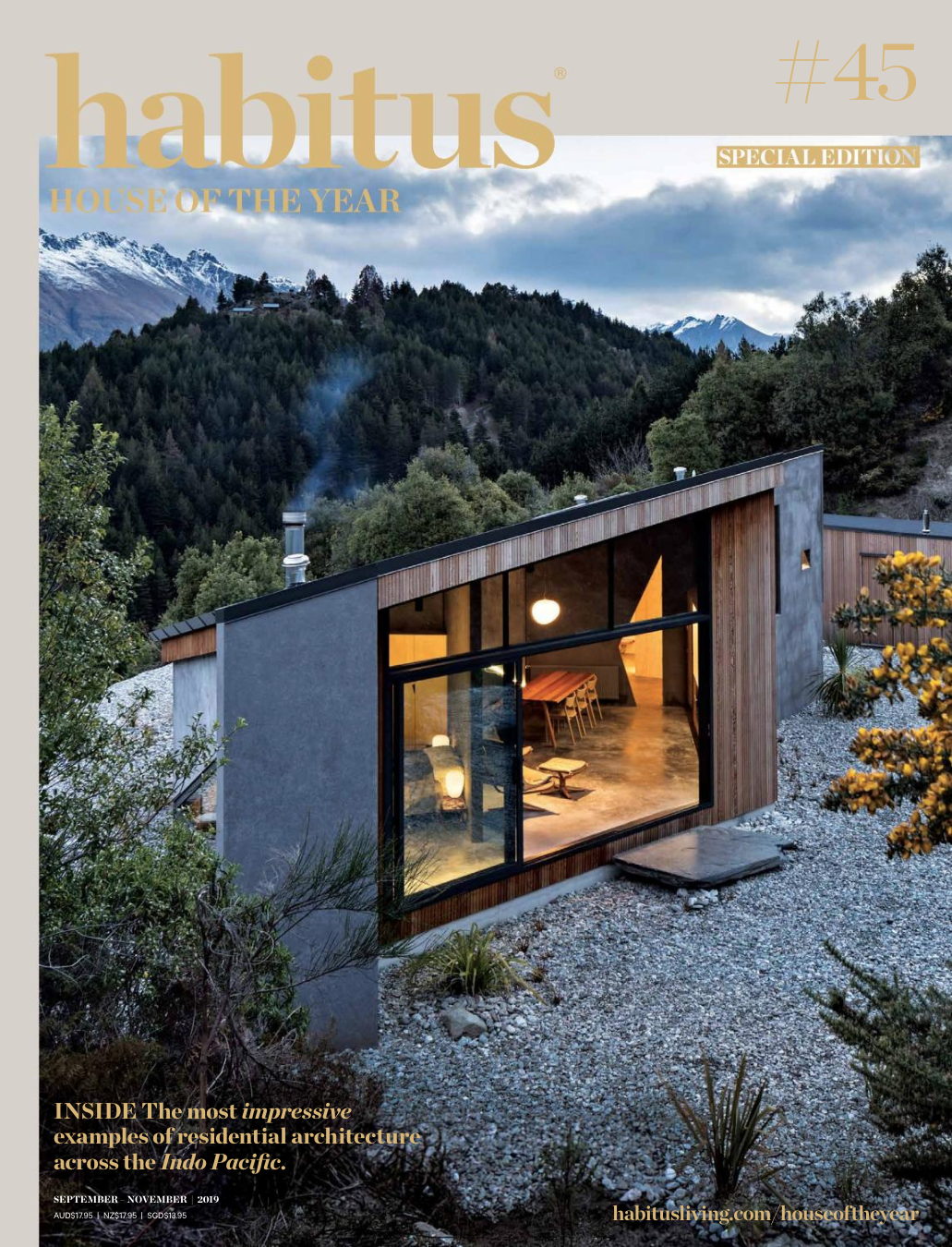 Habitus House of the Year 2019 Simon Devitt Photographer of Architecture