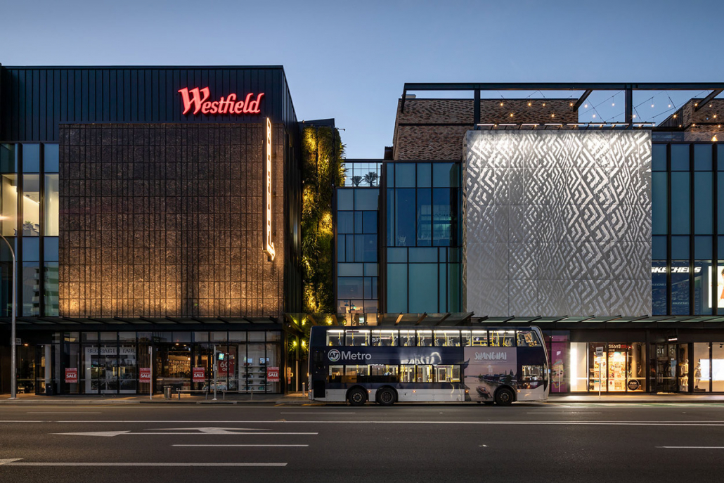 Scentre Group, Commercial Architecture, Simon Devitt, Westfield, Architectural photography, New Zealand, Auckland, Shopping Mall