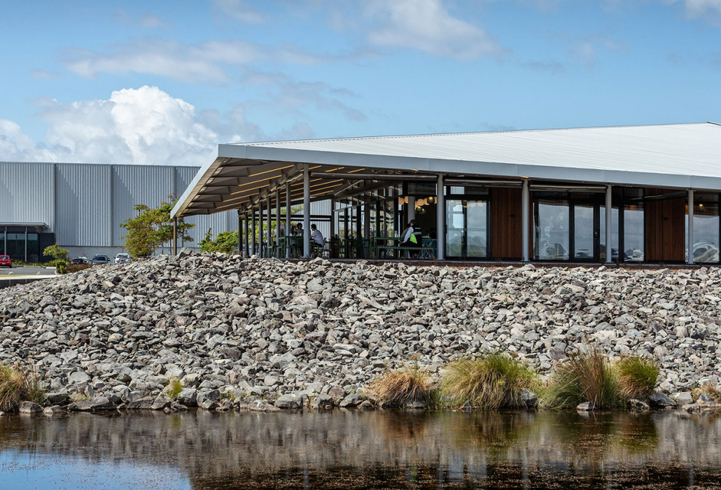RTA Studio, Simon Devitt, Auckland Airport, Commercial architecture, Cafe, New Zealand, Architectural photography