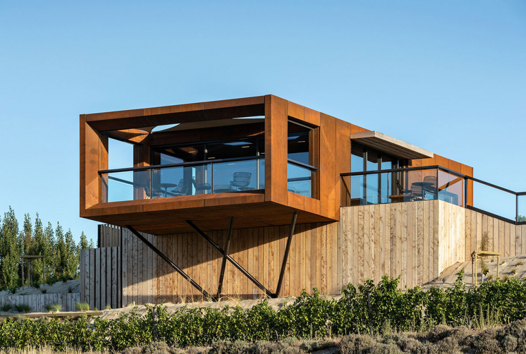 Mason and Wales Architects, Simon Devitt, Vineyard, Architectural photography, South Island, New Zealand, Commercial Architecture